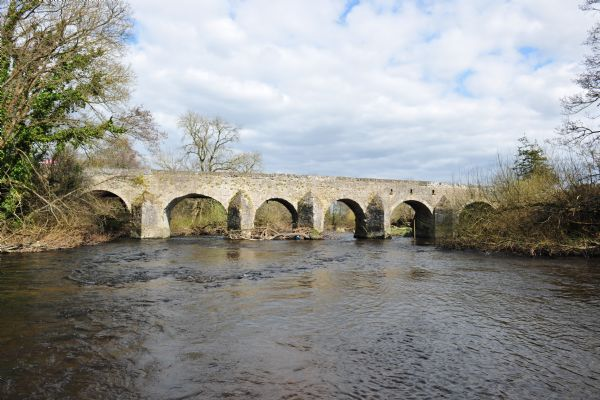 Carragh Bridge in Kildare